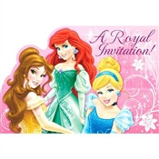 Disney Princesses Invitations (8/pkg)