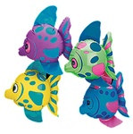 Inflatable Tropical Mini Fish (3/pkg)