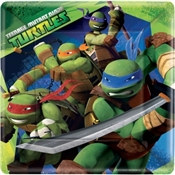 Teenage Mutant Ninja Turtles Lunch Plates (8/pkg)