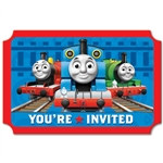 Thomas and Friends Invitations (8/pkg)