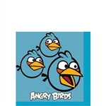 If you love Angry Birds, then you'll need these Angry Bird printed beverage napkins for your next event. Each 2-ply napkin measures 9 and 3/4 inches square when unfolded. Each package contains 16 printed paper napkins.