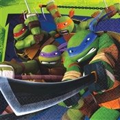 Teenage Mutant Ninja Turtles Lunch Napkins (16/pkg)