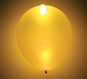 Glow Gold Latex Balloon