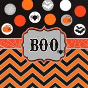 Modern Halloween Lunch Napkins (16/pkg)