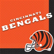 Cincinnati Bengals Lunch Napkins (16/pkg)