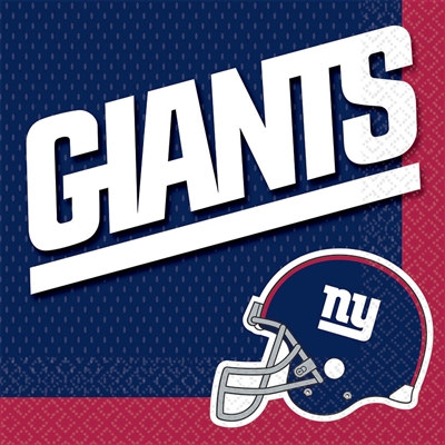 New York Giants Lunch Napkins (16/pkg)