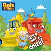 Bob the Builder Lunch Napkins (16/pkg)