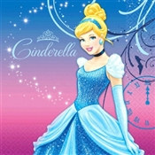 Cinderella Lunch Napkins (16/pkg)
