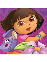Dora Lunch Napkins (16/pkg)