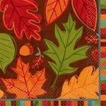 Falling Foliage Lunch Napkins (16/pkg)
