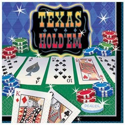Texas Hold Em Lunch Napkins