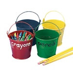 Assorted Color Pails (1/pkg)