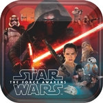 Star Wars Episode VII 9 inch Plates (8/pkg)