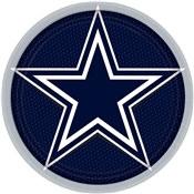 Dallas Cowboys Lunch Plates (8/pkg)