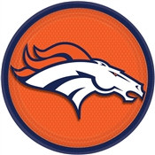 Denver Broncos Lunch Plates (8/pkg)