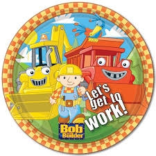 Bob the Builder Lunch Plates (8/pkg)