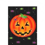 Halloween Pumpkin Plastic Tablecover