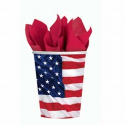 American Flag Hot/Cold Cups