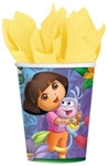 Dora Hot/Cold Cups (8/pkg)