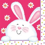 Happy Easter Beverage Napkins (18/pkg)