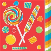 Sugar Rush Beverage Napkins (16/pkg)
