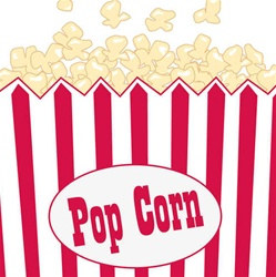 Popcorn Party Beverage Napkins (16/pkg)