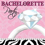 Bachelorette Party Beverage Napkins (16/pkg)