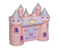 Pink Princess Castle Pinata