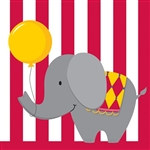 Circus Time! Lunch Napkins (16/pkg)