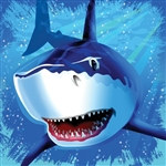 Shark Lunch Napkins (16/pkg)