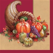 Cornucopia Lunch Napkins (18/pkg)