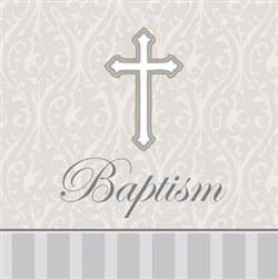 Baptism Lunch Napkins (16/pkg)