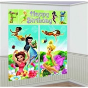 Tinker Bell Scene Setter Wall Dec Kit