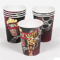 Movie Night Hot/Cold Cups (8/pkg)