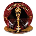 Movie Night Dessert Plates (8/pkg)