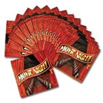 Movie Night Beverage Napkins (16/pkg)