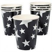 Silver Star Hot/Cold Cups (8/pkg)