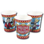 Big Top Circus Hot/Cold Cups (8/pkg)