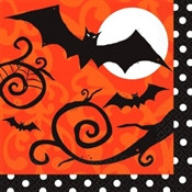Frightfully Fancy Lunch Napkins (36/pkg)