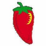Chili Pepper Mylar Balloon