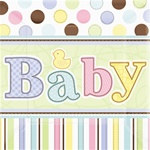 Tiny Bundle Lunch Napkins (36/pkg)