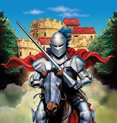 Valiant Knight Plastic Tablecover
