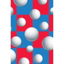 Volleyball Plastic Tablecover
