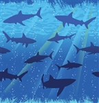 Shark Tablecover