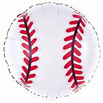Baseball Mylar Balloon