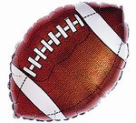 Football Mylar Balloon