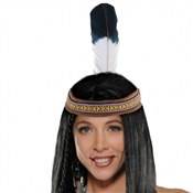 Native American Feather Headband