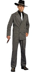 Adult Male Gangster Costume