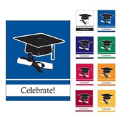 School Colors Congrats Graduation Invitations