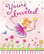Garden Fairy Invitations (8/pkg)